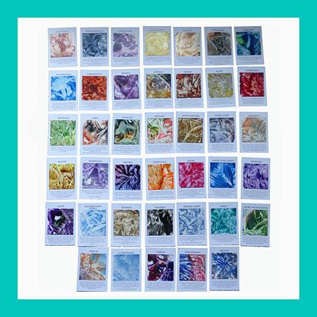 encoustic art kaarten deck